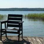 Ein Leseplatz mit Aussicht